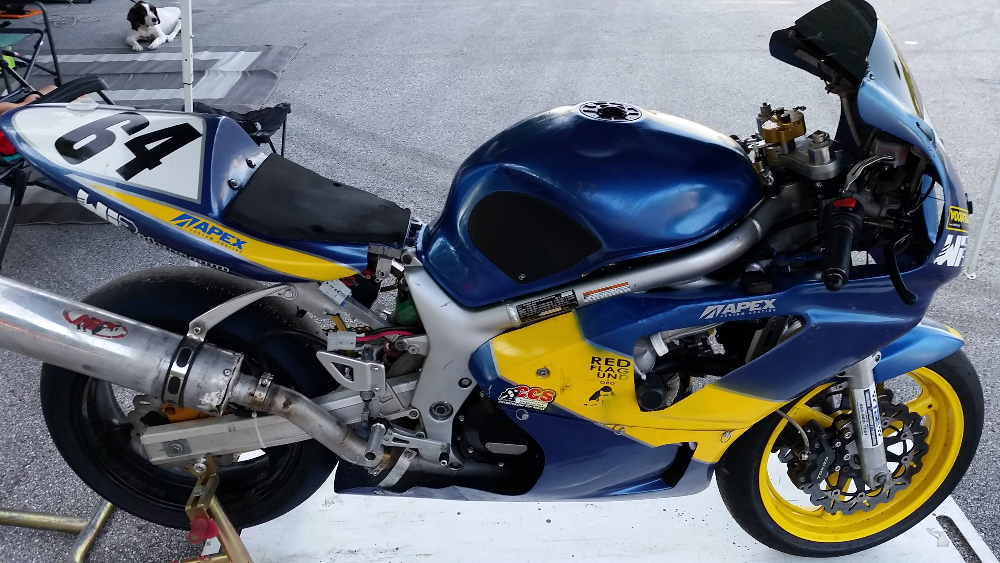 2001 sv650 track race bike 3500 cambridge wi suzuki sv650
