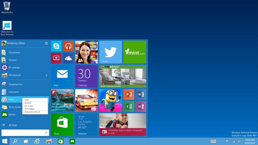 windows 10 tek link